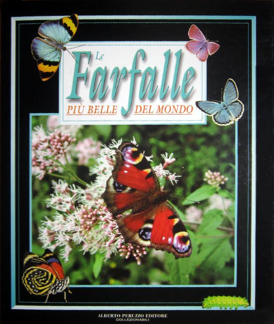 Questa è un opera a cui sono particolarmente affezionato. Uscita in edicola nel 2003 presentava, attraverso fascicoli ad uscita periodica, il meraviglioso mondo delle farfalle e delle falene. Ad ogni uscita era allegato un quadretto in legno con relativa farfalla, descritta nel fascicolo stesso. Nel primo numero c'era la Morpho peleides, una grande ed esotica farfalla originaria del Sud-America. L'opera è divisa in 4 sezioni: Farfalle, dove vengono descritte 30 specie provenienti da tutto il mondo, con approfondimenti sulle famiglie di appartenenza e specie affini. Universo dei lepidotteri in cui si affrontano aspetti biologici e morfologici, dalla biologia all'anatomia. Il volo dell'immaginazione, dove si narrano storie di persone e leggende legate al mondo delle farfalle. In fine, la sezione Entomologia, dove si parla del mondo degli insetti in generale.