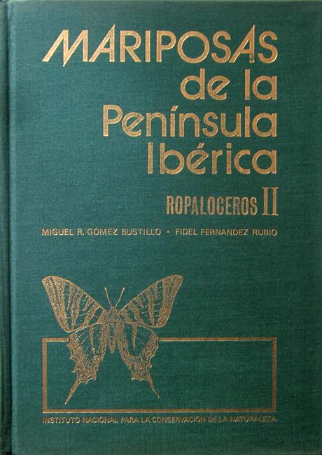 Miguel Rafael Gomez Bustillo, Fidel Ferdinandez Rubio, Mariposas de la Penisula Iberica (Tomo II). Rhopaloceros II, Servicio de Publicaciones del Ministerio de Agricultura, Madrid, 260 p., ISBN-84-500-6203-9, 1974. Il secondo volume di questa serie elenca e descrive tutte le specie di farfalle note a quel tempo per la Penisola Iberica. Se le foto degli esemplari delle varie specie sono di discreta qualità, le cartine di distribuzione sono molto dettagliate.