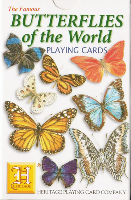 Heritage, Butterflies of the World Playing Cards, Heritage Playing Card Company, Atkins (USA), 2005.